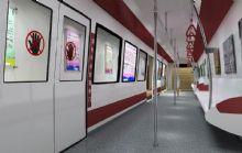 地铁通道,室内场景max模型