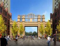 大门,建筑,室外场景max模型