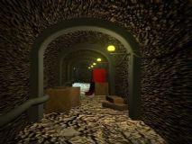 地道,通道,室内场景maya模型