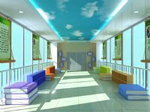 书房,室内场景max模型