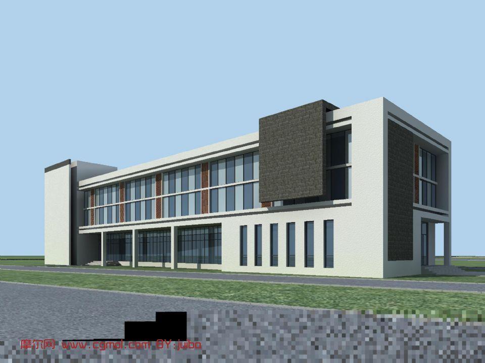 作品: 办公楼,房子,大楼,现代建筑,室外场景max模型