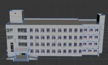 教学大楼,学校,建筑,室外场景max模型