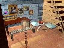 简约书房,室内场景maya模型