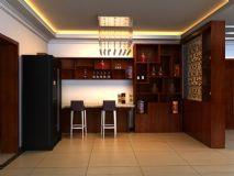 家装吧台,室内场景max模型