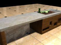 桌子,室内家具maya模型
