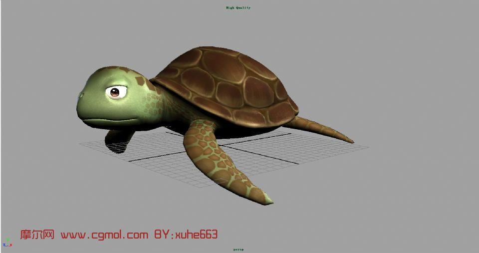 卡通动物maya模型