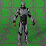 机械战警,机器人max模型