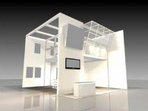 会展,简约房子,建筑,室外场景max模型