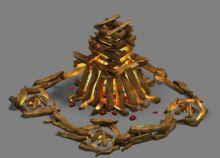 篝火,游戏场景,室外max模型