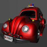 卡通甲壳虫,汽车maya模型