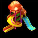 Q版滑梯,娱乐设施max模型