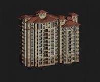 住宅,小区,房子,建筑,室外场景max模型