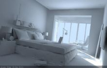 室内场景,卧室max模型