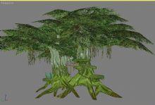古树,树木,游戏场景max模型