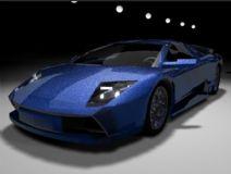 兰博基尼,汽车maya模型