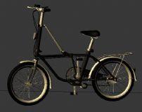 自行车,交通工具max模型