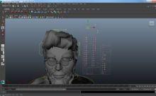 男性,博士,卡通人物maya模型