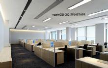 现代办公室,室内场景max模型