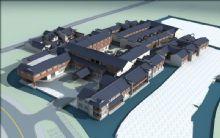 中式酒店,古建筑,饭店,室外场景max模型