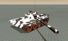 59式坦克,军事战车c4d模型