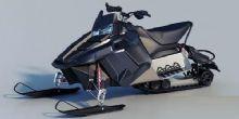 雪地车,雪地摩托,雪橇车3D模型