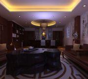 中式办公室,室内场景max模型
