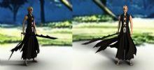 死神一护,黑崎,卡通角色maya模型