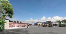 厦门市杏东小学校门,建筑,室外场景max模型