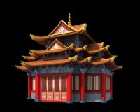 宫殿,古建筑,室外场景max模型