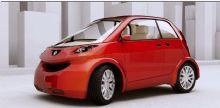 雷诺,红色小汽车max模型