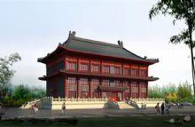 中式建筑,办公楼,大楼,古代建筑,室外场景max模型