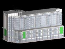 配楼,大楼,大厦,建筑,室外场景max模型