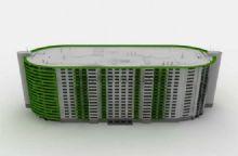 现代建筑,住宅,小区,室外场景max模型