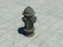 消防栓,公共设施max模型
