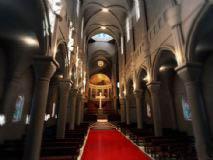 教堂,建筑,室内场景max模型