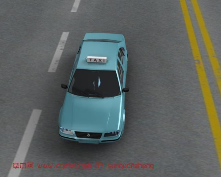 出租车,汽车maya模型