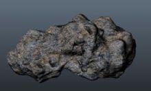 石头,场景道具maya模型