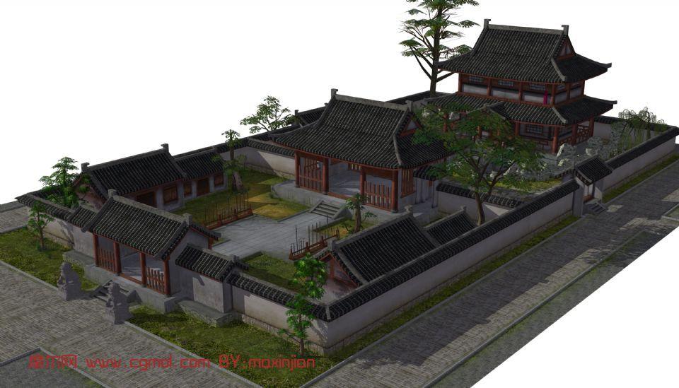 古代建筑街道图片展示_古代建筑街道相关图片下载