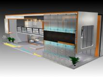 商城,商场设计,现代场景,室外场景max模型