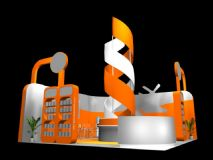 展厅设计,展位,室外场景max模型