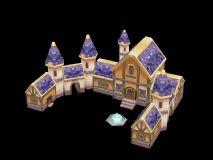 Q版城堡,房子,住宅,建筑,游戏场景max模型