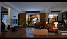 休闲客厅,室内家具max模型