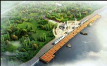 河边景观,现代建筑,室外场景max模型