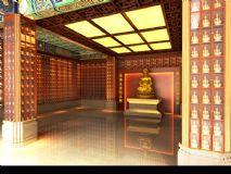 千佛殿,寺庙,中式建筑max模型