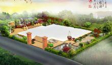庭院,室外场景max模型