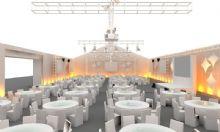 餐厅,酒店餐厅,舞台设计,室内场景max模型