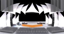 舞台设计,舞台模型,室内场景max模型