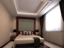 小卧室,现代场景,室内max模型