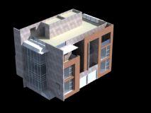 别墅,现代建筑,室外场景max模型