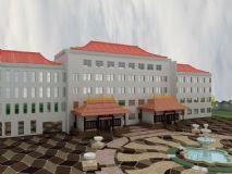 酒店,现代建筑max模型